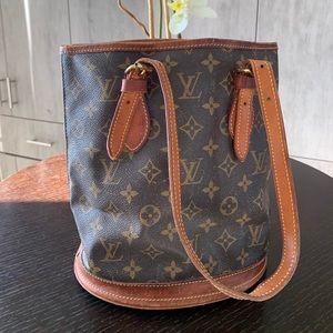 LV bucket purse
